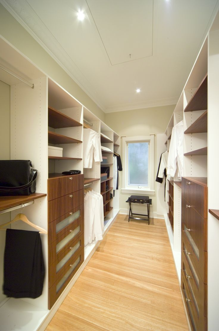 Custom designed modern wardrobe storage to separate yours from your partners.