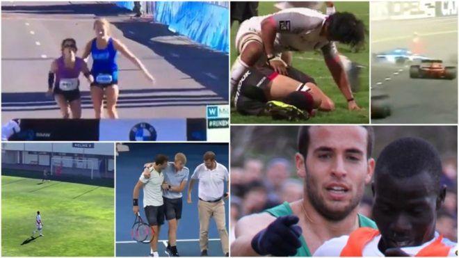 Grandes gestos deportivos: Los Reyes de la deportividad | Marca.com http://www.marca.com/otros-deportes/2018/01/05/5a4f7a31ca474125768b4661.html