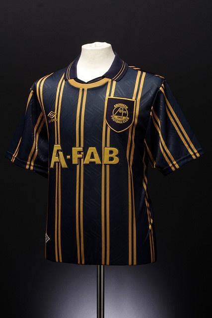 Aberdeen Football Shirt (away, 1993-1994)