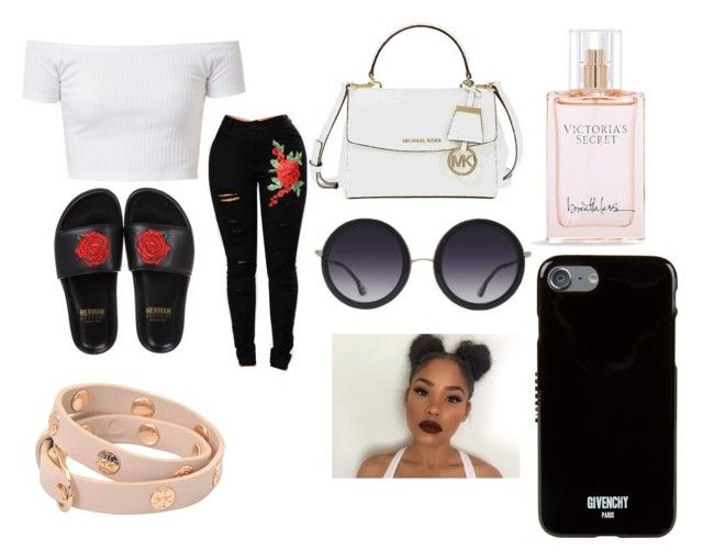 """""""Different Brands 💰🤑"""" by jeunetee on Polyvore featuring BUSCEMI, Victoria's Secret, Michael Kors, Alice + Olivia, Givenchy and Tory Burch"""
