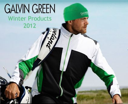 Galvin Green #Winter #Golf Clothing Campaign Image by Golfposer!