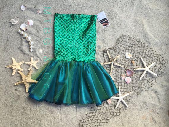 MERMAID PARADISE toddler mermaid costume girls by MTBGBOUTIQUE