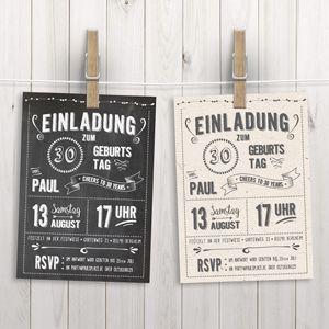 Chalkboard Design: 17 kostenlose Fonts, neue Geburtstagsposter und Einladungen i