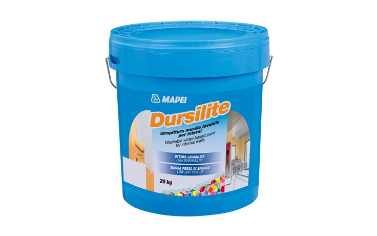Mapei Dursilite Paint available from Promain.co.uk    #dursilite #mapei #wallpaint #washable #internalwall #limerender #Gypsum #matt #professional