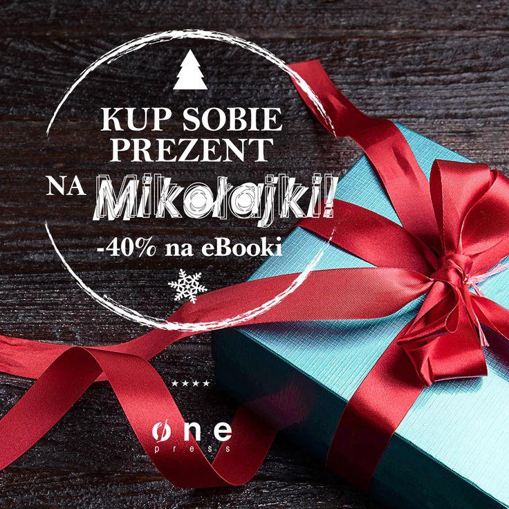 Mikołajkowa promocja na Onepress - ebooki z 40% rabatem :)  #onepress #promocja #mikolaj #mikojalki #ksiazki #ebooki #prezenty