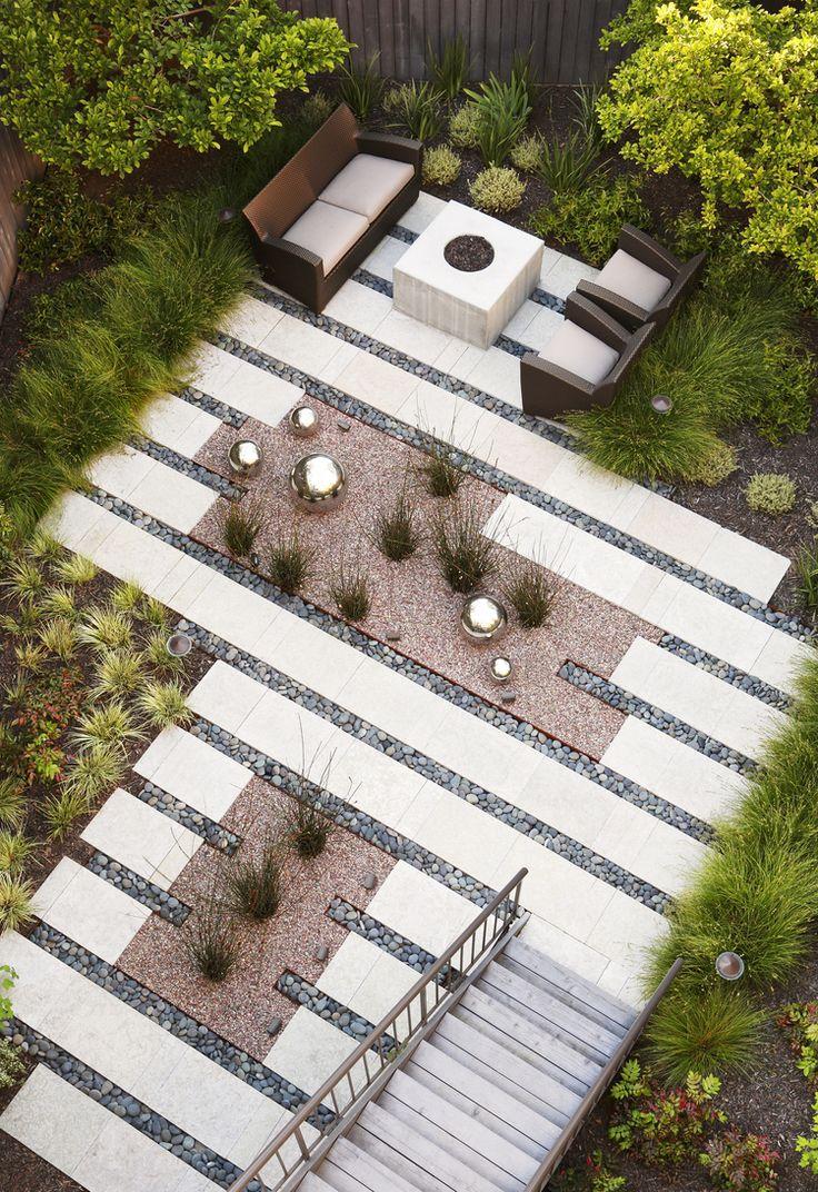modern landscape architecture outdoor decorating ideas
