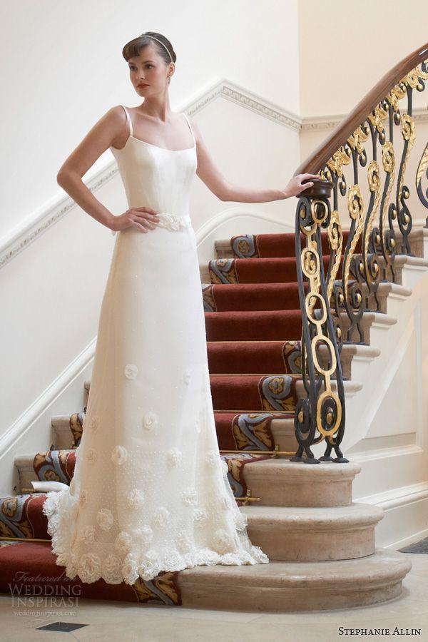 stephanie allin 2014 peony wedding dress with straps