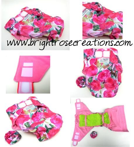 Dog Diaper Pattern, DIY, PDF sewing Pattern, Make it Yourself, Any Size, Toy, Small, Giant Breed