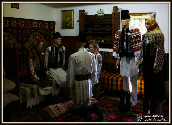 """A special village museum in the city of Suceava, representing houses from villages around the """"Bucovina"""" area..."""