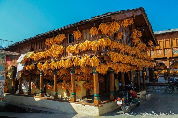A house in the Corn Village of Sainji, Mussoorie
