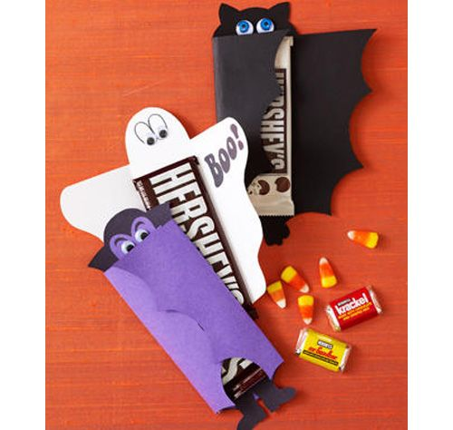Favors - candy bar wrappers - seen these a millions times, but they are still cute!