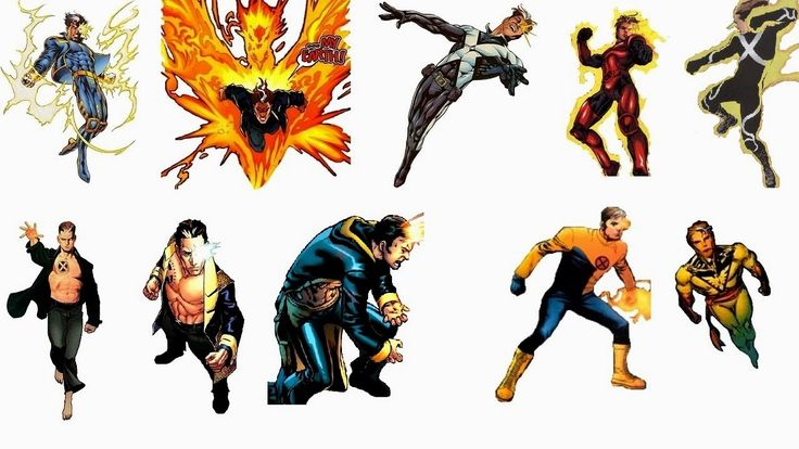 Nate Grey aka the X-Man, is the son of Cyclops and Phoenix, artificially created in a laboratory from the two mutants' DNA to b...
