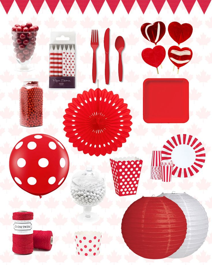 Blog - Canada Day Party Supplies PartyStock is your Canadian source for party ideas, party supplies, and decorations! www.partystock.ca
