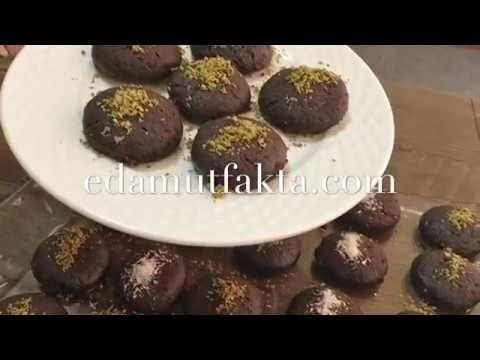 Kakaolu ıslak cocostar kurabiye tarifi-Şerbetli kokostar kurabiye-İçi do...
