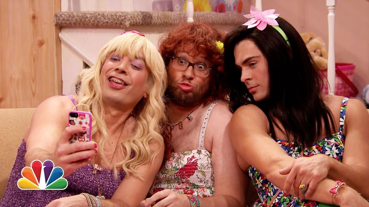"""""""Ew!"""" with Seth Rogen and Zac Efron. ZAC EFRON MAKES A BEAUTIFUL WOMAN"""