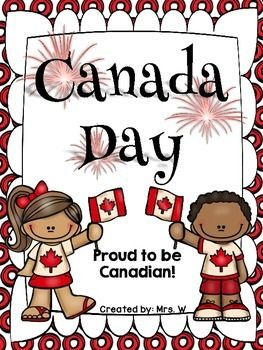 "Canada Day Freebie!  This pack includes some great printables to help celebrate Canada Day!   Included: * Canada Day - KWL Worksheet * ""My favourite thing to do on Canada Day is..."" Writing Prompt * Proud Canadian Picture  * Canadian Symbols (label the Canadian symbols using the word bank) * ""The best thing about being Canadian is..."" Writing Prompt * CANADA (use adjectives to describe what Canada means to you)    Thank you for downloading my Canada Day Freebie!!"