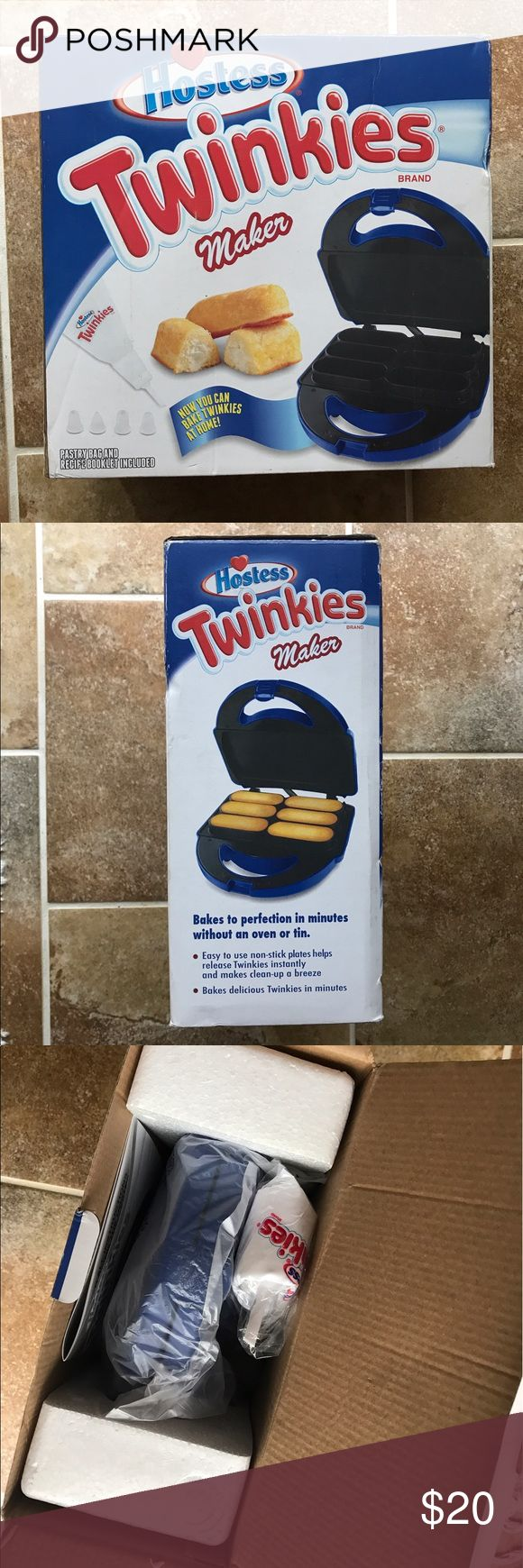 Twinkie Maker Never been used. Didn't take out items in box to picture because it's brand new, all parts untouched. Other
