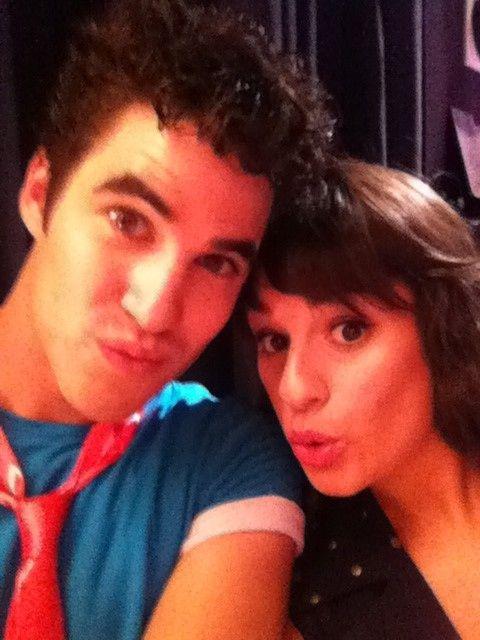 Darren Criss & Lea Michele  i want to look like her.
