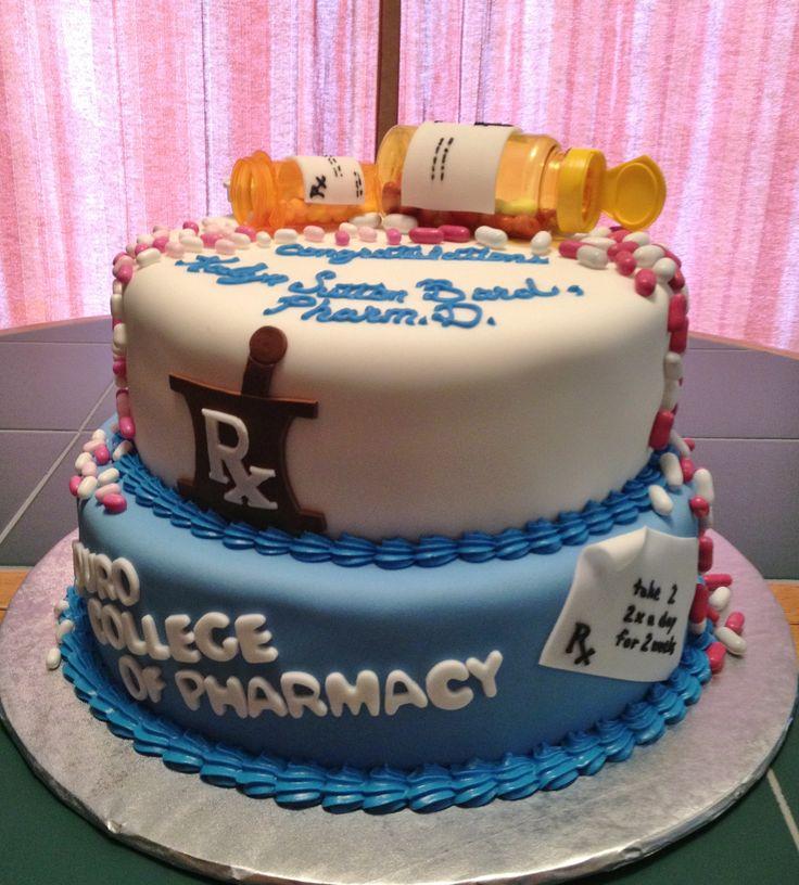 pharmacy+graduation+cakes | Pharmacy School Graduate
