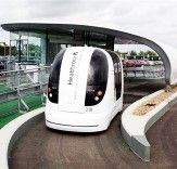 Self driving transportation pods to service small a community outside of London