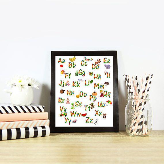 SALE  A4 LEGO ART Alphabet Poster Print Lego Wall Art Lego