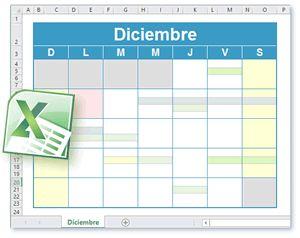 Calendario Plantilla