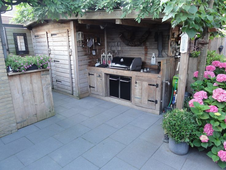 Image Result For Bbq Terrace Ideas Bbq Shed Backyard Outdoor Kitchen Bars