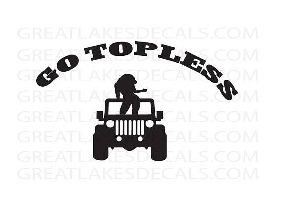 Jeep Vinyl Decal Sticker For indoor & outdoor use Waterproof This decal will stick to almost any surface, car windows,computers,laptop,glass. Our decals are made from high quality 6 year adhesive back vinyl. Each decal is professionally cut with a vinyl cutter. They will stick