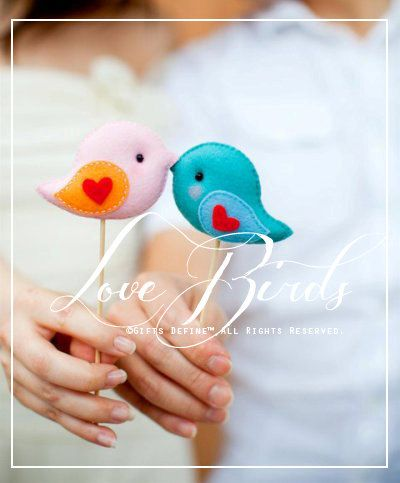Find Out How To Enter Win A Pair Of Adorable Customized Love Bird Wedding Cake Toppers Created By Gifts Define