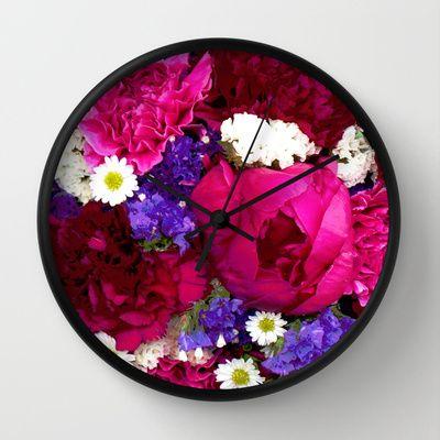 Clock from Badger Blossom on: http://society6.com/badgerblossom
