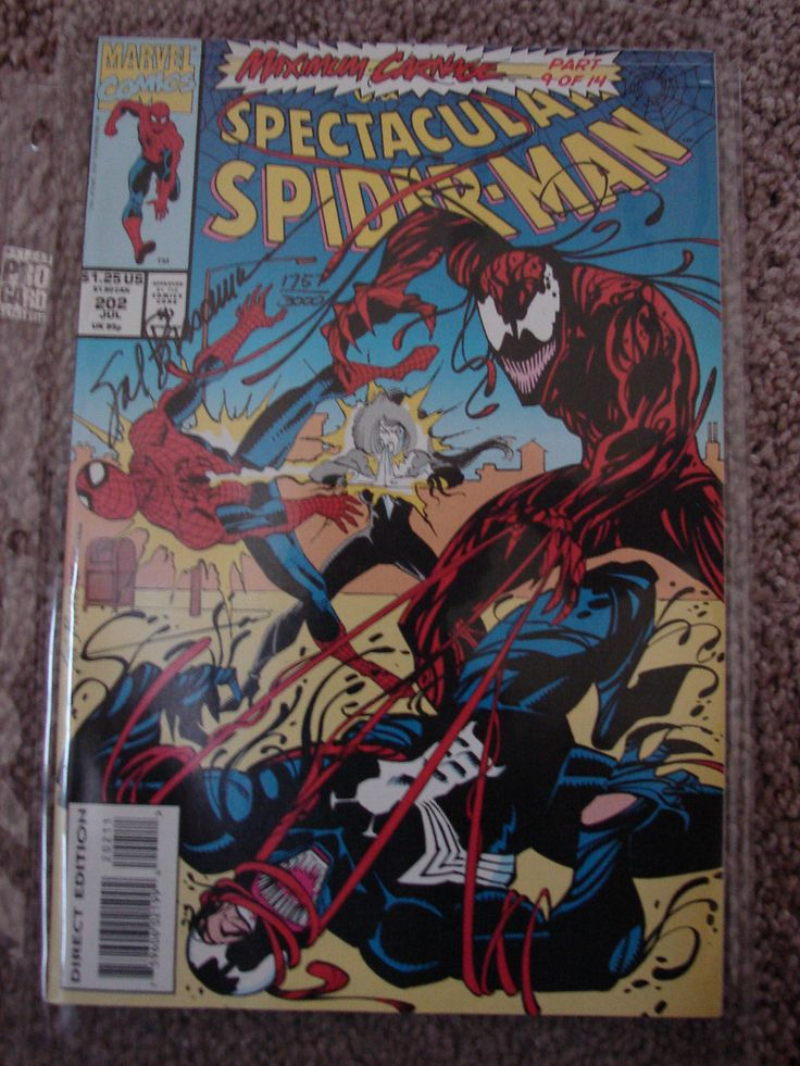SPIDER-MAN, Complete Set of 14, Signed by Artists, Maximum Carnage, Limited Edition, Dynamic Forces, Published May 1993 by Marvel by BackStageVintageShop on Etsy