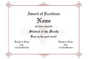 forward award certificate template award certificates personalize and