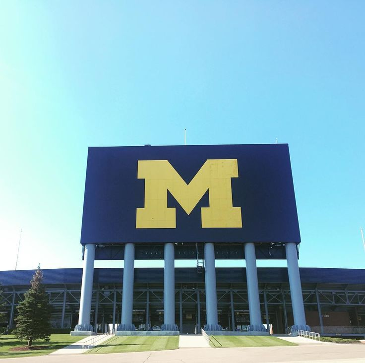 Touring the Michigan stadium today. It's a bit surreal to visit campus and all my old stomping grounds. No game but fun nevertheless.