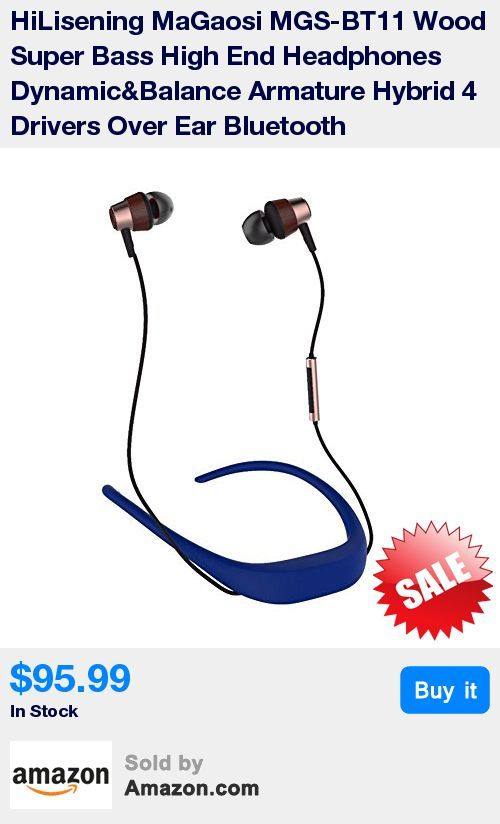 Hybrid technology, Hybrid 10mm Wood Dynamic and AHC balanced armature 4-way driver Over-ear Earphone * Deep Bass丨Noise-Isolating丨HiFi Earphone enjoy HiFi stereo music in daily life. * Earphone with 3.5mm Gold Plated Stereo Plug,1 Year Warranty * That will be better works after given them up to 100 hours of playtime. * SPORTS DESIGN -- Ultra-light headset ensures the headphones stays stable in ears and brings not any burden on neck while in gym, running, jogging riding bikes or other sports.