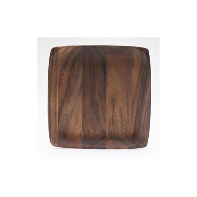 Kona Wood 12\  Square Plate  sc 1 st  Pinterest & 15 best rustic images on Pinterest | Charger plates Plate sets and ...