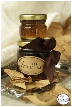 ildi KOKKI : Vanília paszta (Vanília kivonat házilag glükóz szirupból)