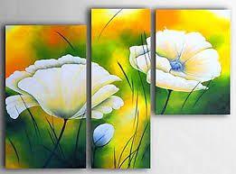 Resultado de imagen para pinturas al oleo abstractas de flores