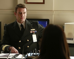 Scott Foley, a.k.a. Capt. Jake Ballard, on Scandal.  Love it!
