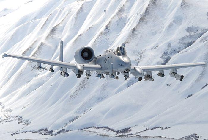 Snow Camo A-10