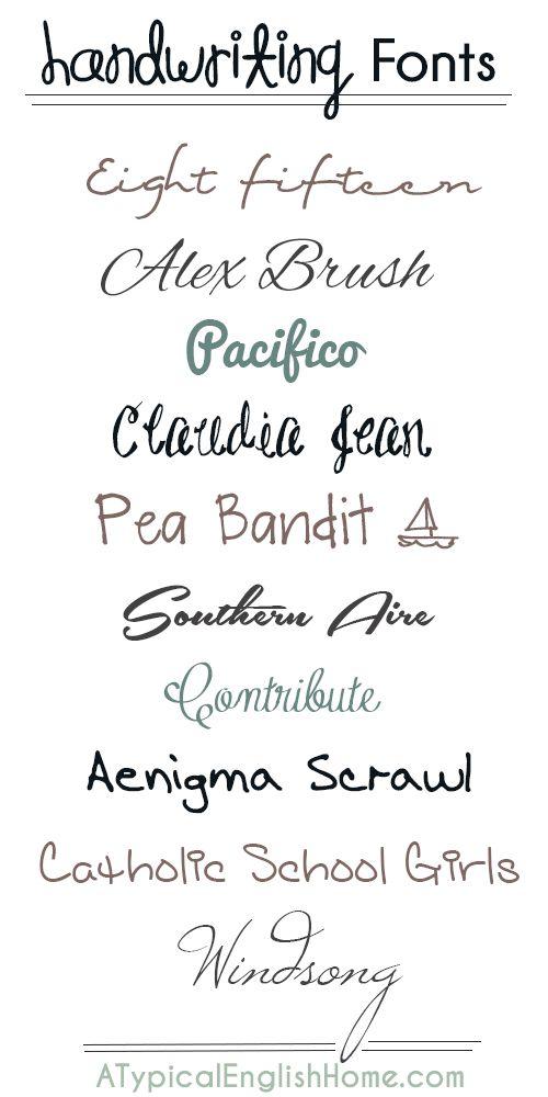32 Best Images About Handwriting On Pinterest Lyrics