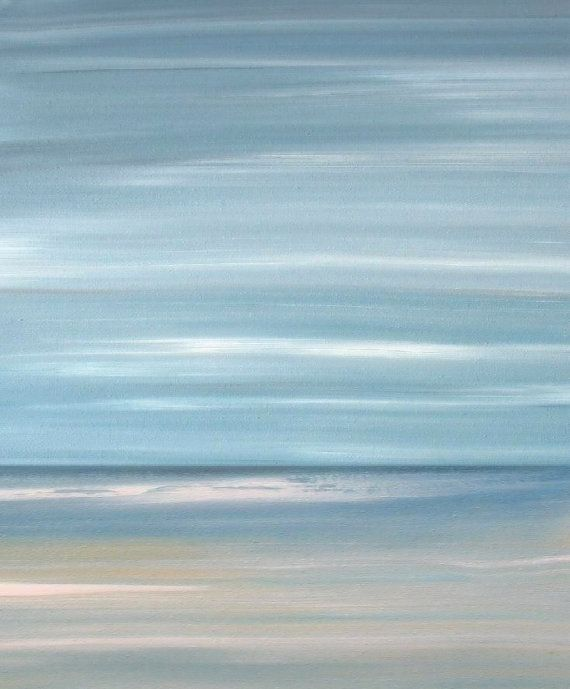 Beach Art Ocean Artwork Print Abstract Painting By Francine Bradette Free S Decor Pinterest And