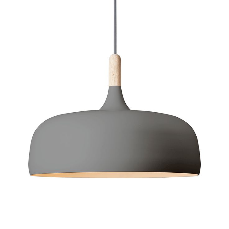 Design Belysning AS - Northern Lighting Acorn Pendel Grå - Pendler og hengelamper - Taklamper - Innebelysning