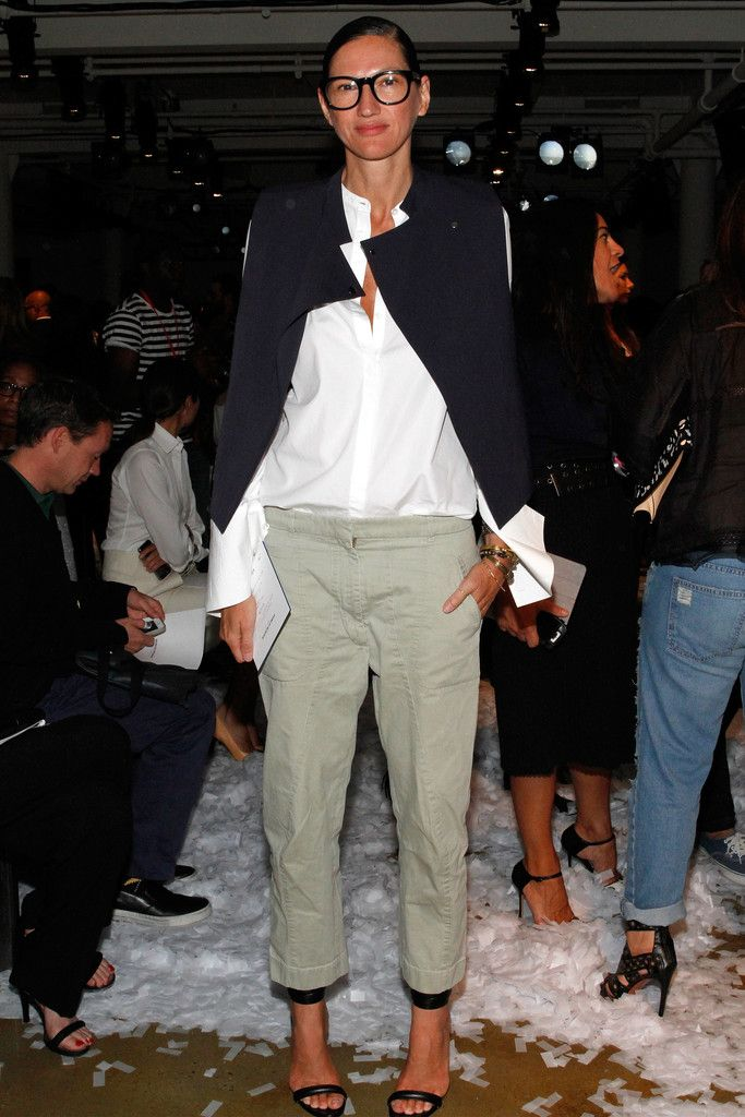 Jenna Lyons Photos: Public School - Front Row - MADE Fashion Week Spring 2015