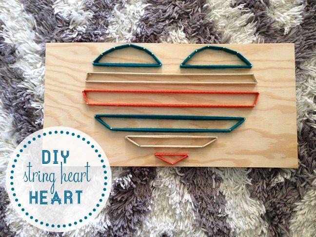 heart string art DIY