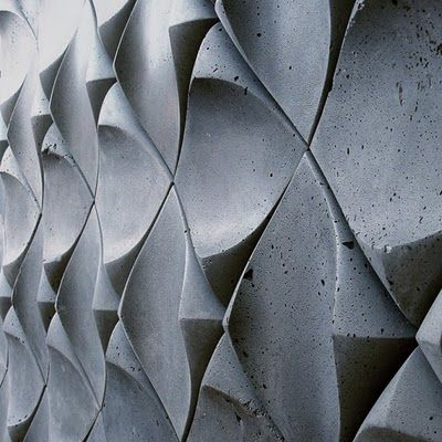 Really cool repeated form #architecture #brutalist #concrete / Tiles by http://www.urbanproduct.ca/