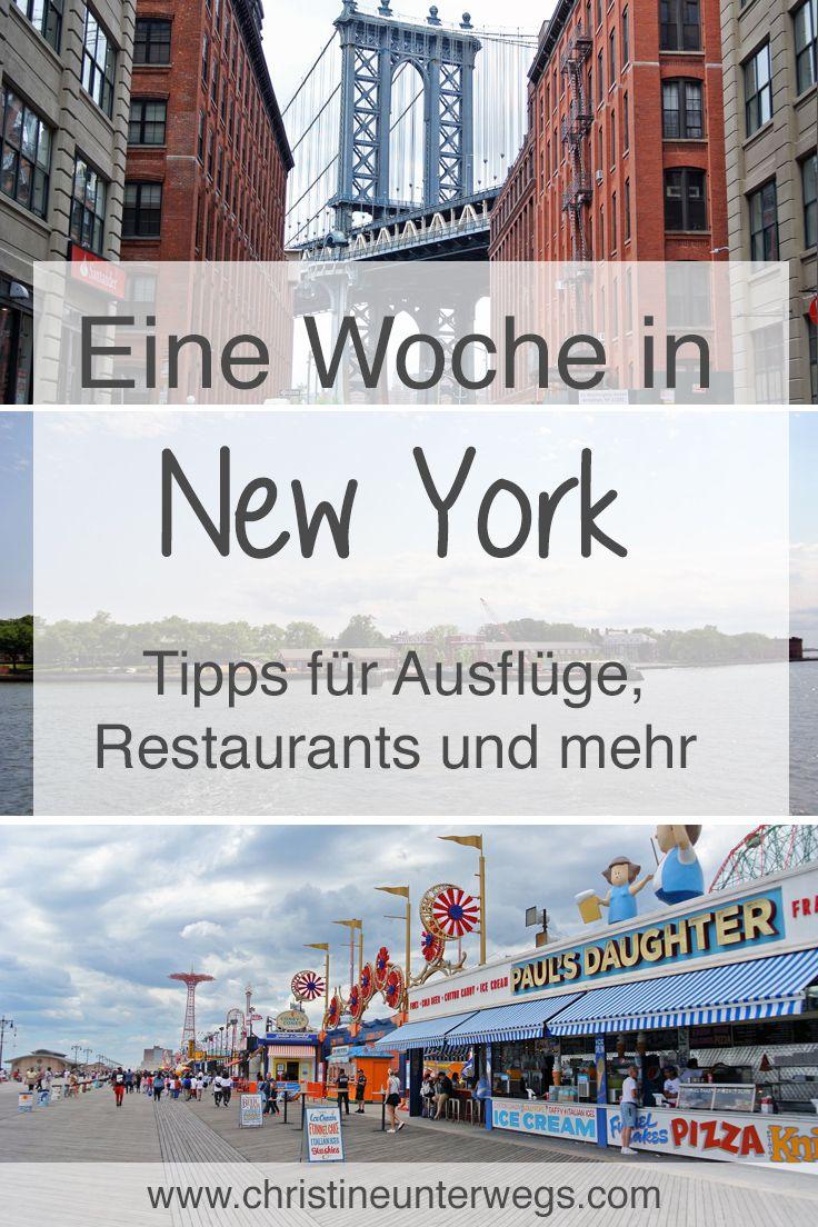 Eine Woche in New York – Teil 2 – Reisebericht von