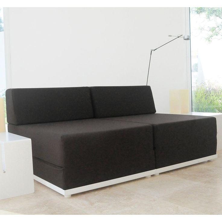 M s de 25 ideas incre bles sobre sof cama doble en for Cama individual que se hace doble