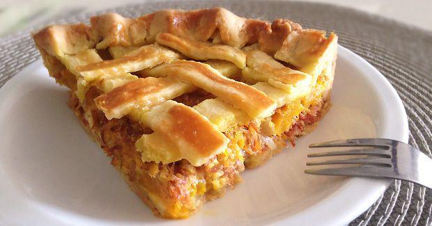 Já que carne seca combina com abóbora, por que não fazer uma torta? E acrescentar requeijão para dar aquele toque gordo, gostoso de viver? A ideia é essa: ...