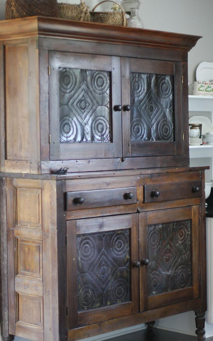 Old Prim Pie Safe Jenni Bowlin Vintage Kitchen Cabinetswood