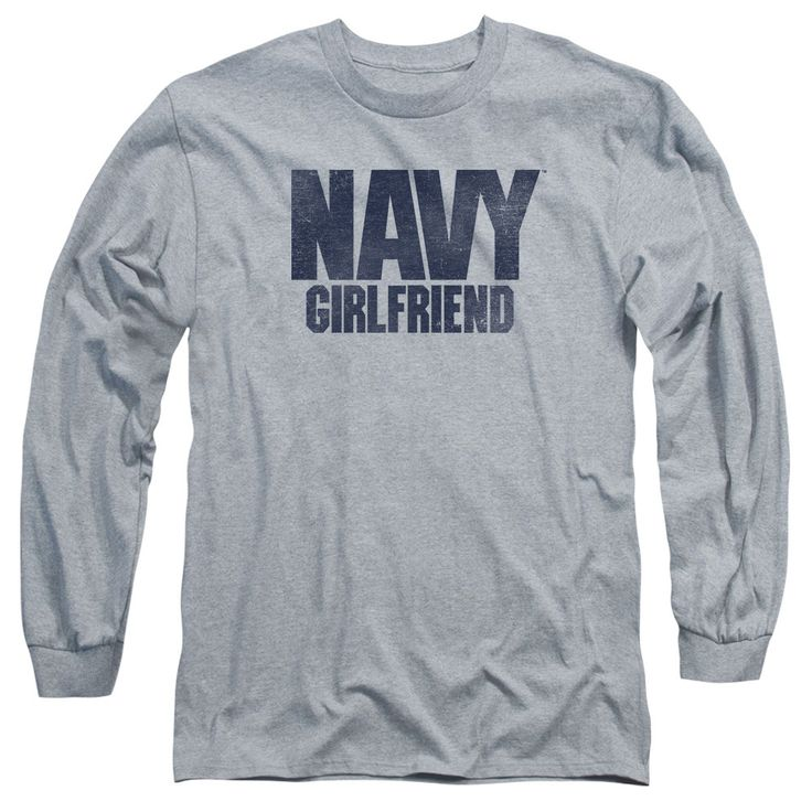 U.S. Navy: Girlfriend Long Sleeve T-Shirt